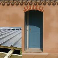 Rénovation enduits extérieur, entretien de façade et démoussage,  réparation couverture