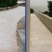 Maçonnerie extérieur : pavage et dallage, escalier béton, muret et mur, clôture et pilier de clôture